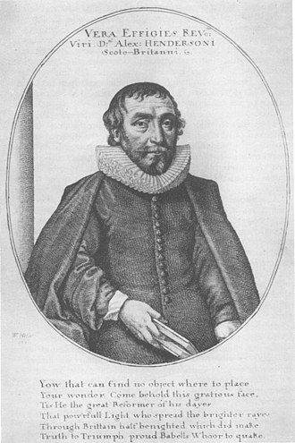 Alexander Henderson (theologian) - Moderator of the General Assembly, 1638