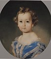 Alexandr Vladimirovich Baryatinky (1848-1910) as child by I. Makarov (1850s, private coll.).jpg