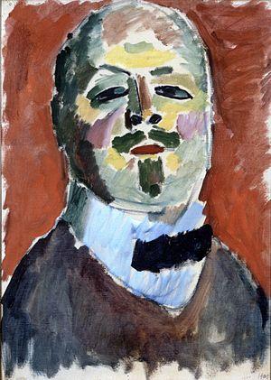 Alexej von Jawlensky - Self-portrait, 1905