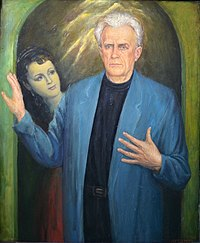 Alexey Kuzmich Portrait of national actor of USSR Nikolai Eremenko 1996.JPG