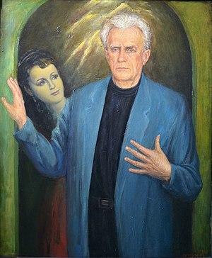 Nikolai Yeremenko Sr. - Image: Alexey Kuzmich Portrait of national actor of USSR Nikolai Eremenko 1996