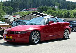 Alfa Romeo on Alfa Romeo Sz     Wikip  Dia  A Enciclop  Dia Livre