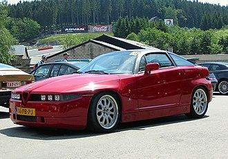 Zagato - Alfa Romeo SZ (Sprint Zagato)