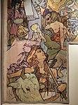 Alfons mucha, l'epoca romana e l'arrivo degli slavi, dipinto per padiglione bosnia-h. all'esp. univ. di parigi del 1900, 07.jpg