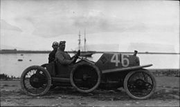 Alfred Neubauer in his Austro-Daimler at the 1922 Targa Florio (3).jpg