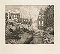 Alfred Taiée - Paris en Train. Démolition du théâtre du Vaudeville- rue du Dix-Decembre - 2014.312 - Cleveland Museum of Art.jpg