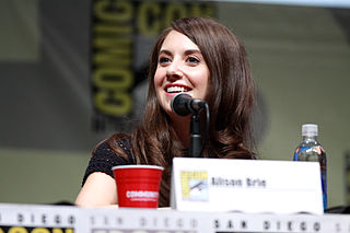 Alison Brie American actress, writer, and producer (born 1982)