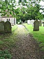 All Saints Church - churchyard - geograph.org.uk - 1349952.jpg