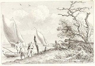 Fishermen with Sailboats
