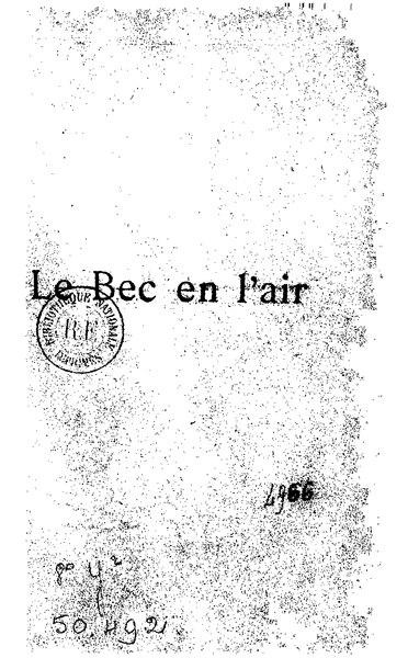 File:Allais - Le Bec en l'air.djvu