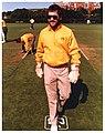 Allan Border (Cricketer) - At Victoria University Wellington - 1986 (16311670747).jpg