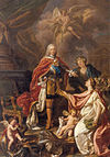 Allegory of King Ferdinand VI as a peaceful king.jpg