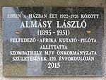 Almásy László emléktáblája.JPG