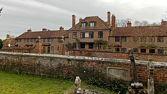 "Stephen Fox - ""Fox's Hospital"", Farley, an almshouse founded by Sir Stephen Fox"