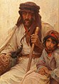 Alois Hans Schram - Bedouin and Young Girl.jpg