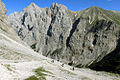 Alpen Wettersteingebirge Abstieg Knorrhütte Reintal.jpg