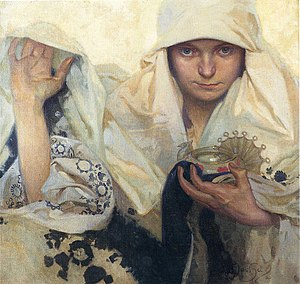 Destiny - Fate, by Alphonse Mucha