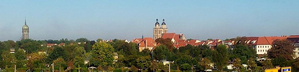 Altstadt Lutherstadt Wittenberg-Panorama