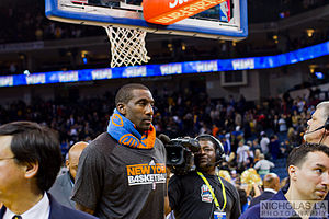 Amar'e Stoudemire - Stoudemire with the Knicks.