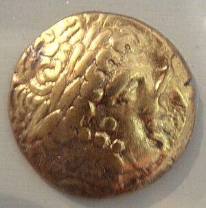 Ambarri - Ambarri gold coin, 5th-1st century BCE.