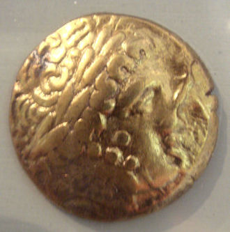 Ambarri - Ambarri gold coin, 5th-1st century BCE.