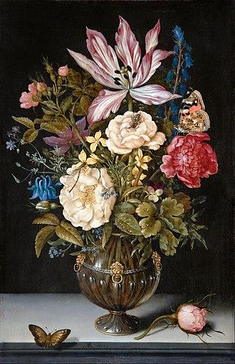 Ambrosius Bosschaert - Still-Life with flowers