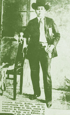 Soldaderas - Amelio Robles Avila, coronela in the Revolutionary Army of the South