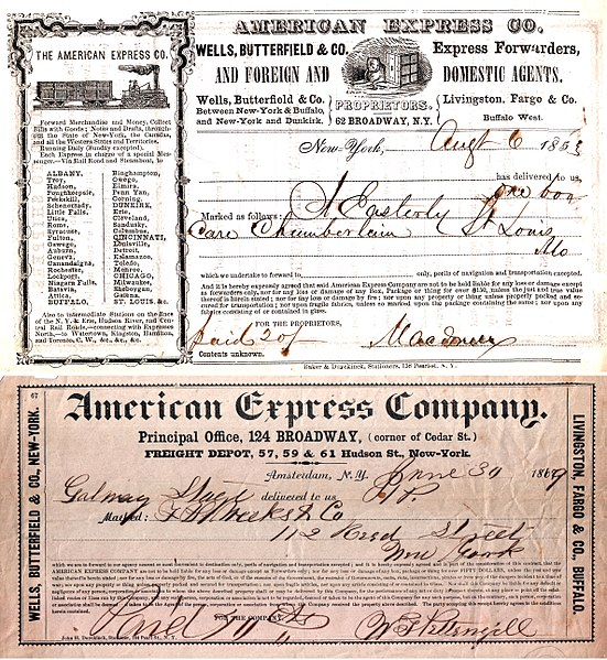 File:American Express Shipping Receipt 1853.jpg