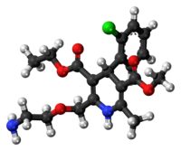 Amlodipine 3D ball.png