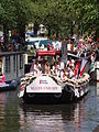 Amsterdam Gay Pride 2013 boat no28 Aids Fonds pic1.JPG