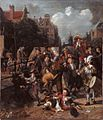 Amsterdam street-scene with a bear-tamer, by Matthijs Naiveu.jpg