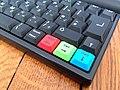 Amstrad NC100 (keyboard closeup bottom right) (Thomas Conté).jpg