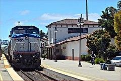 Amtrak Pacific Surfliner Train at San Luis Obispo California - panoramio (1)
