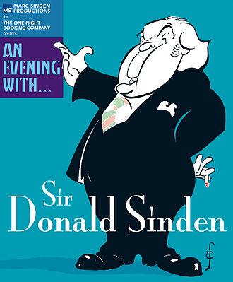Donald Sinden - Production poster for An Evening with... Sir Donald Sinden