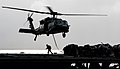 An MH-60S Sea Hawk helicopter transfers supplies to USS Ronald Reagan. (19780785171).jpg