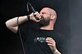 "Anaal Nathrakh, Dave ""V.I.T.R.I.O.L."" Hunt at Party.San Metal Open Air 2013 04.jpg"