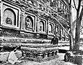 Anagarika Dharmapala (1864-1933) at the Vajrasana.jpg