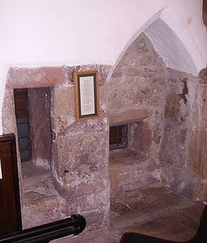 Anchorite - Anchorite's cell in Skipton.