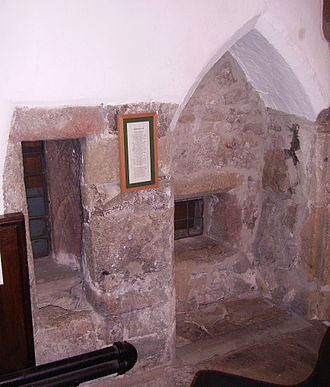 Monastic cell - Anchorite's cell in Skipton.