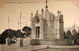 Chapelle Saint-Louis de Carthage - Chapelle Saint-Louis in 1888