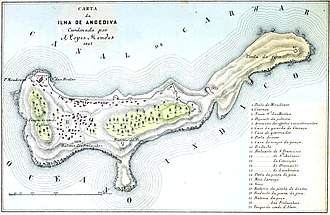 Portuguese conquest of Goa - Angediva Island