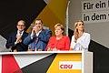 Angela Merkel, Claudia von Brauchitsch, Karl Alfred Lamers - 2017248170319 2017-09-05 CDU Wahlkampf Heidelberg - Sven - 1D X MK II - 045 - AK8I4298.jpg