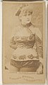 Annie Sutherland, from the Actors and Actresses series (N45, Type 1) for Virginia Brights Cigarettes MET DP830523.jpg