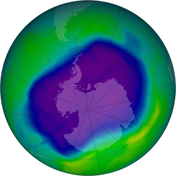 Logo for ELL Literacy with NASA:  The Damaged Ozone Layer Situation