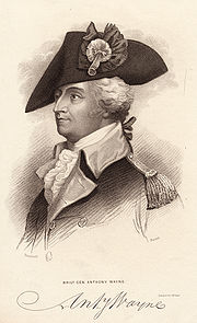 Engraving of Anthony Wayne