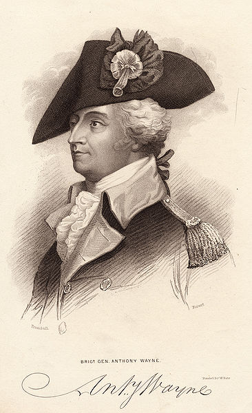 General Anthony Wayne, courtesy of the Library of Congress's National Digital Library Program