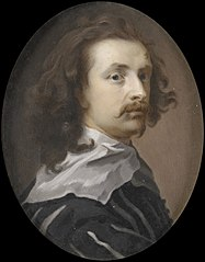 Portrait of the painter Anthony van Dyck