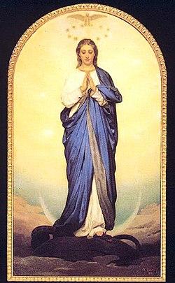 Antonio Ciseri, immacolata. Firenze, Chiesa del Sacro Cuore.jpg