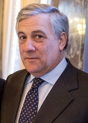 Antonio Tajani - Image: Antonio Tajani 2016