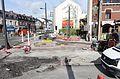 Anzin & Valenciennes - Travaux de raccordement des lignes A & B du tramway de Valenciennes à la Croix d'Anzin le 13 août 2013 (43).JPG